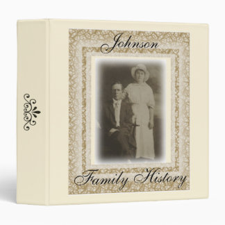 Vintage Photo Frame Family History Binder