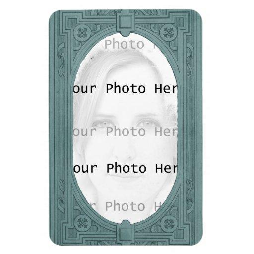 Vintage Photo Frame Flexible Magnet