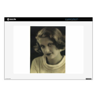 Vintage Photo Glamour Girl Decals For Laptops