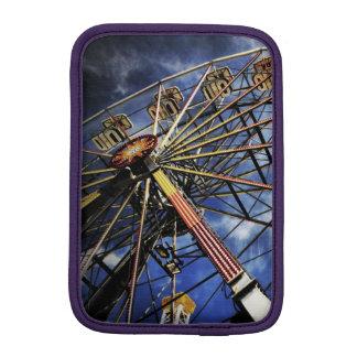 Vintage photo of ferris wheel sleeve for iPad mini