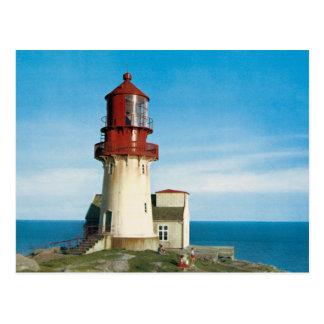 Vintage photo of Lindesnes Lighthouse Postcard