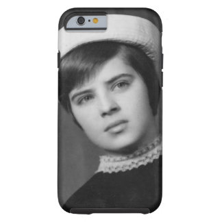 Vintage Photo of Young & Stylish Young Mod Girl Tough iPhone 6 Case
