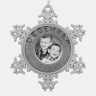 vintage photo ornament