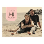 Vintage Photo Save the Date Template Post Card