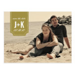 Vintage Photo Save the Date Template Postcard