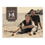 Vintage Photo Save the Date Template Postcards