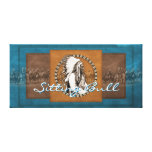 Vintage Photo Sitting Bull Wrapped Canvas Gallery Wrap Canvas