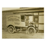 Vintage Photo Trenton's Allfather Candy Co Truck Print