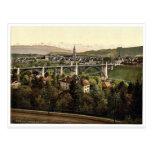 Vintage Photochrom de las montañas, Berna, Suiza Postales