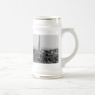 Vintage Photograph of Charlestown Massachusetts Beer Stein