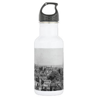 Vintage Photograph of Charlestown Massachusetts Water Bottle