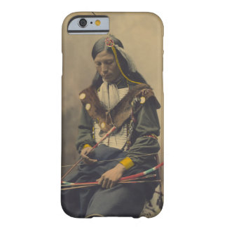 Vintage Photograph of Cherokee Man with Bow Barely There iPhone 6 Case