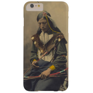 Vintage Photograph of Cherokee Man with Bow Barely There iPhone 6 Plus Case