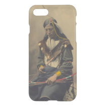 Vintage Photograph of Cherokee Man with Bow iPhone 7 Case
