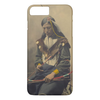 Vintage Photograph of Cherokee Man with Bow iPhone 8 Plus/7 Plus Case