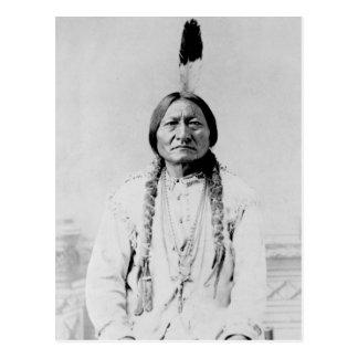 Vintage Photograph of Lakota Leader Sitting Bull Postcard