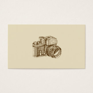 Vintage Photographer Business Card Template
