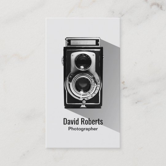 Vintage photographer camera photography business card zazzle vintage photographer camera photography business card reheart Choice Image