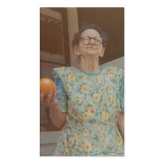 vintage photographs (grandma josephine) Double-Sided standard business cards (Pack of 100)