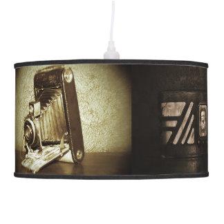 Vintage Photographs Hanging Lamps