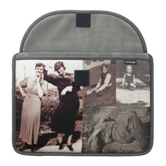 Vintage Photographs Mac Book Pro Sleeve
