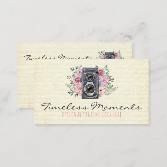 Vintage photography camera rustic photographer business card vintage photography camera rustic photographer business card reheart Choice Image