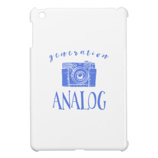 Vintage Photography Funny Generation Analog iPad Mini Case