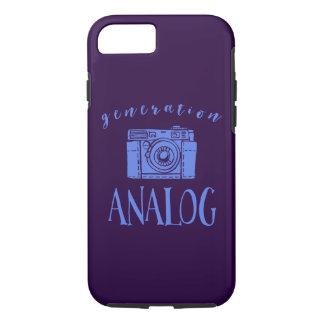 Vintage Photography Funny Generation Analog iPhone 8/7 Case