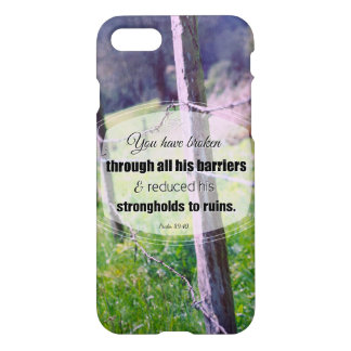 Vintage photography psalm 89:40 iPhone 8/7 case