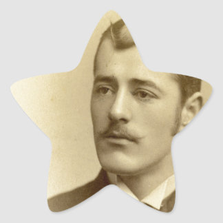 Vintage Photography Star Sticker