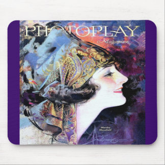 Vintage Photoplay Film Magazine Cover 1923 Mouse Pad