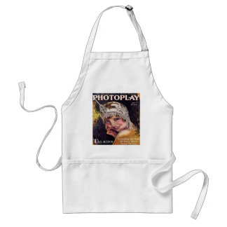 Vintage Photoplay Film Magazine Cover 1929 Adult Apron