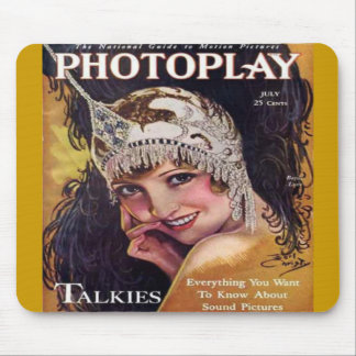 Vintage Photoplay Film Magazine Cover 1929 Mouse Pad