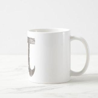 Vintage pi taza de café