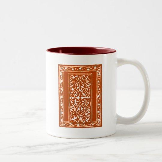 Vintage Pi Two-Tone Coffee Mug