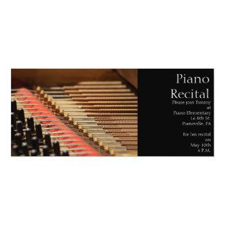 Vintage Piano Invitation