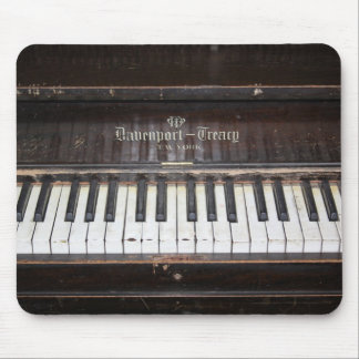 Vintage Piano Keyboard Mouse Pads