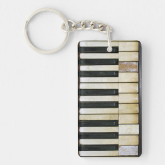 Vintage Piano Keychain