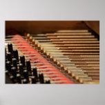 Vintage Piano Pinblock and Strings Print