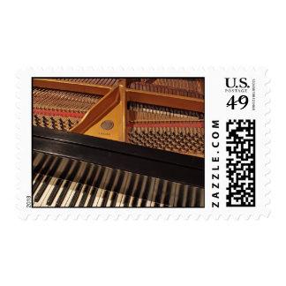 Vintage Piano Postage