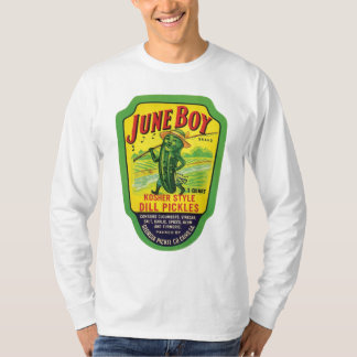 Vintage Pickles Food Product Label T-Shirt