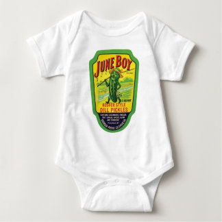 Vintage Pickles Food Product Label T Shirts