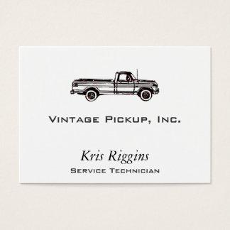 Vintage Pickup Business Card