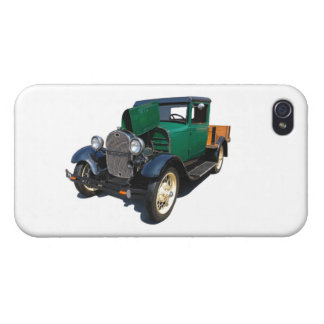 Vintage Pickup Truck iPhone 4 Case