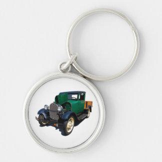 Vintage Pickup Truck Keychain