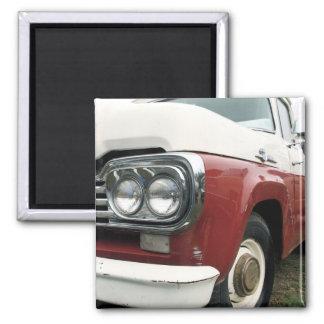 Vintage Pickup Truck Magnet