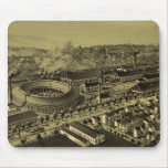 Vintage Pictorial Map of Altoona PA (1895) Mouse Pad
