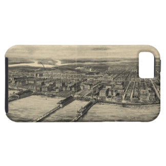 Vintage Pictorial Map of Atlantic City (1909) iPhone SE/5/5s Case