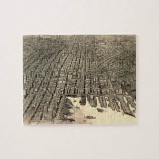 Vintage Pictorial Map of Baltimore (1912) Jigsaw Puzzles