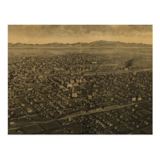 Vintage Pictorial Map of Billings Montana (1904) Postcard